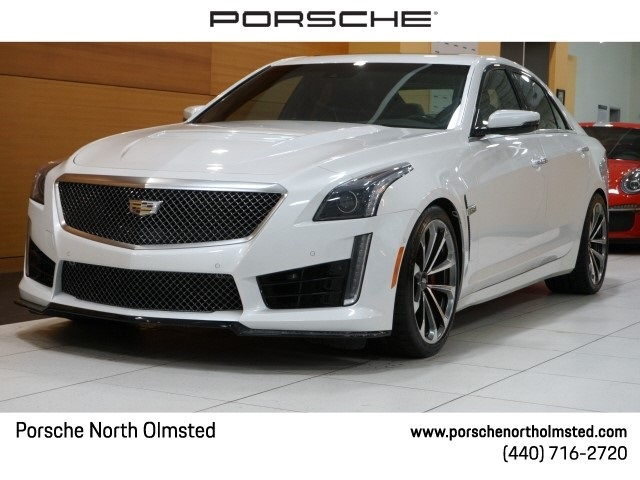 Pre-Owned 2017 Cadillac CTS-V Base