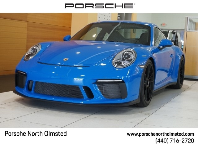 Certified Pre Owned 2018 Porsche 911 Gt3