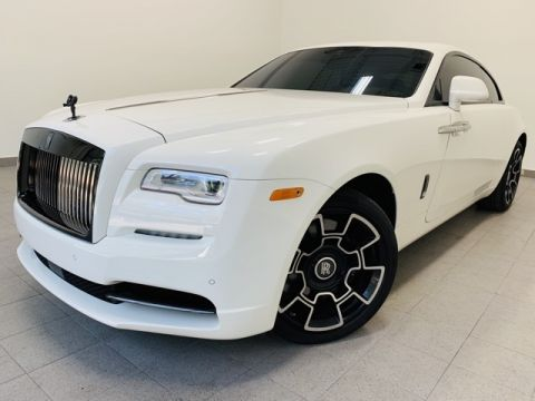 Pre-Owned 2017 Rolls-Royce Wraith Black Badge