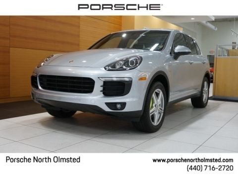 Certified Pre-Owned 2015 Porsche Cayenne S Hybrid